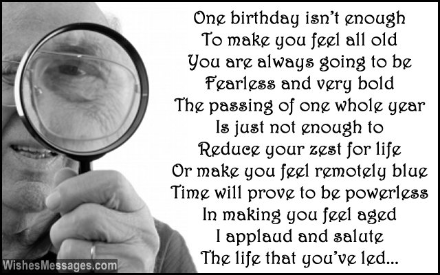 Inspirational birthday poem for grandpa