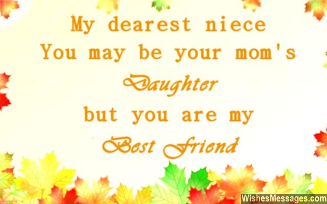 Sweet Quote For Nieces And Aunts Uncles