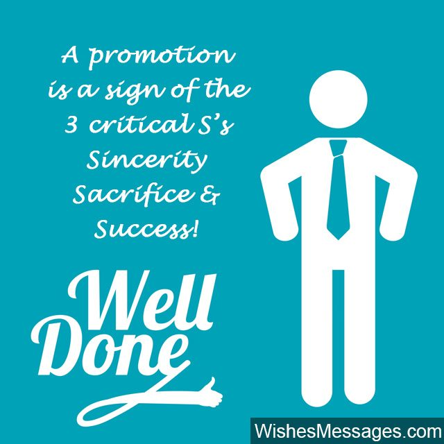 Congratulations Quotes New Job Position: Promotion Wishes And Messages: Congratulations For