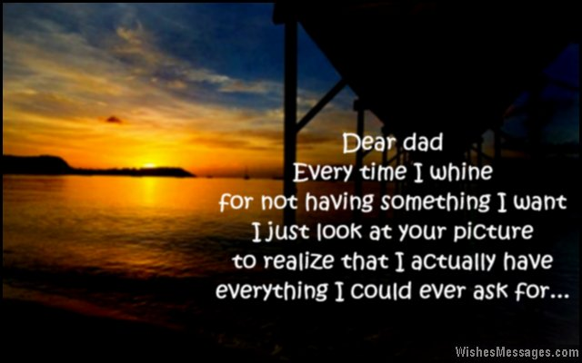 Love Dad Quotes Beauteous I Love You Messages For Dad Quotes WishesMessages