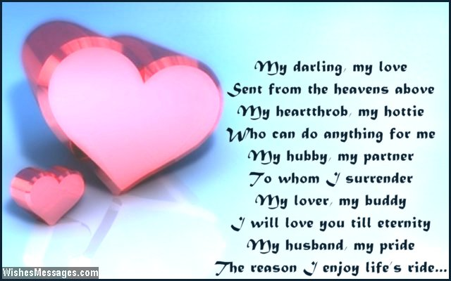 Cute i love you poem for him