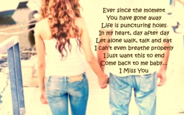 I miss you quotes for your girlfriend