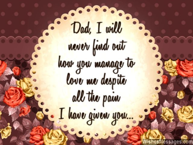 Dad i love you quote thanks for everything