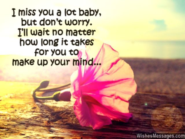 Missing you quote i'll wait for you forever