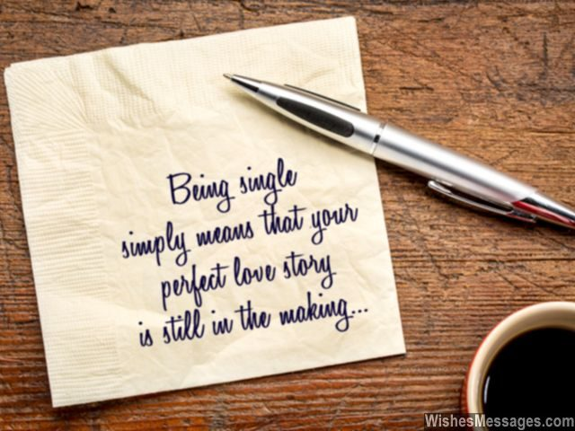 Perfect love quote for single people be patient your love story