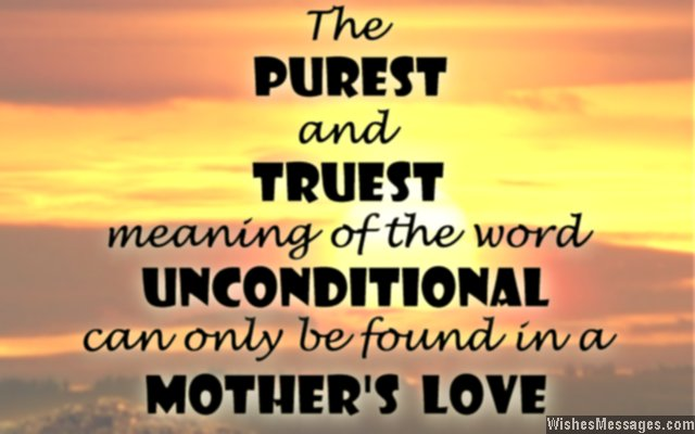Quote about mother's love