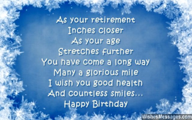 60th Birthday Wishes Quotes and Messages WishesMessages – Funny Birthday Card Messages for Friends