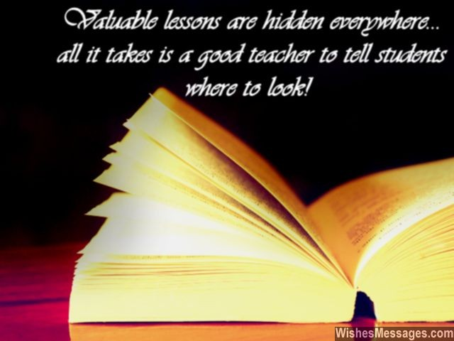 Farewell Messages for Teachers: Goodbye Quotes for ...