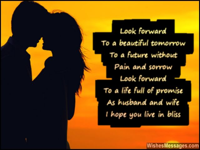 Cute Wedding Poem Quote For Newly Married