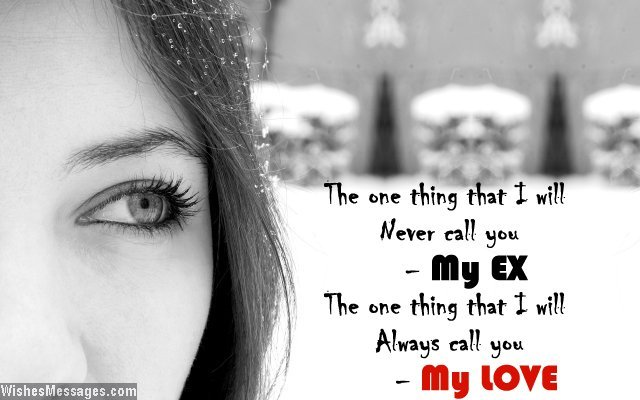Sad love quote for ex-boyfriend