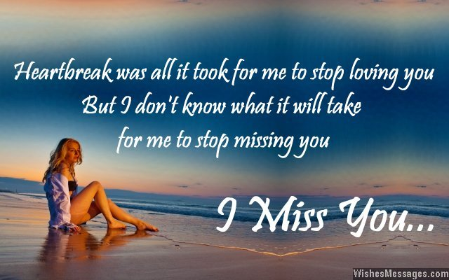 ex boyfriend quotes i miss you sweet i miss you message from
