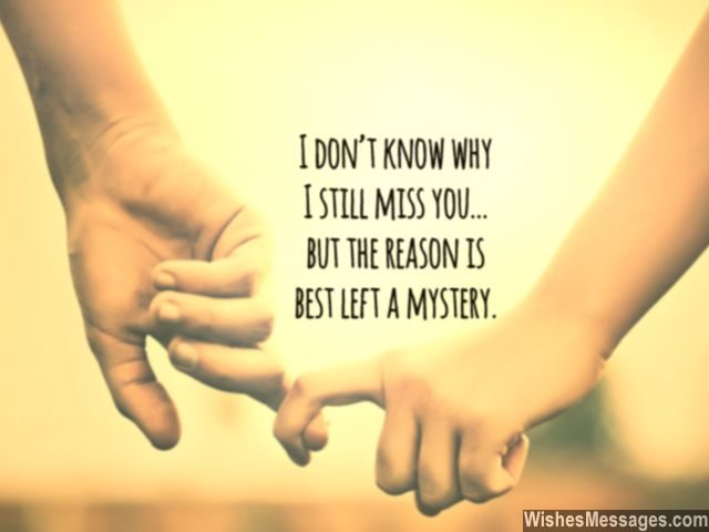 i miss u quotes for him