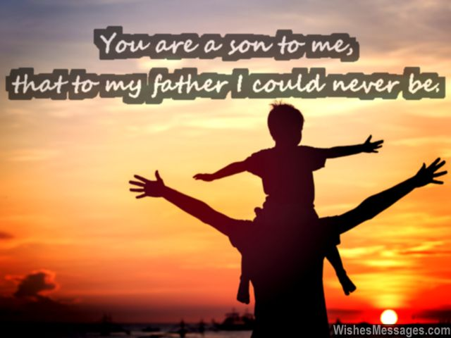 Father Son Love Quotes Cool I Love You Messages For Son Quotes  Wishesmessages