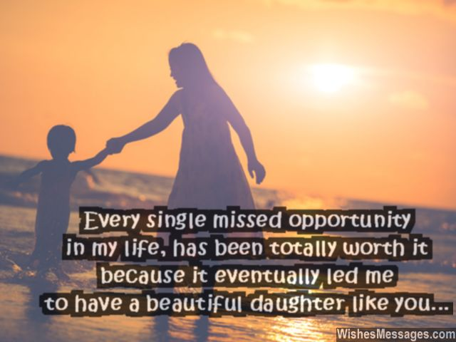 Beautiful Quote And Love Message From Mother To Daughter Holding Her Hand