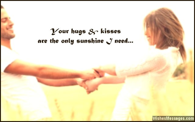 Hug sms for boyfriend