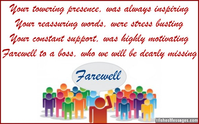 Farewell Messages for Boss: Goodbye Quotes for Boss ...