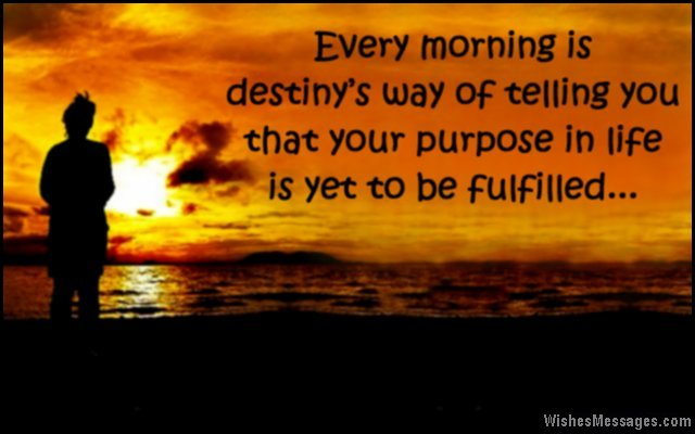 Inspirational good morning wishes greeting