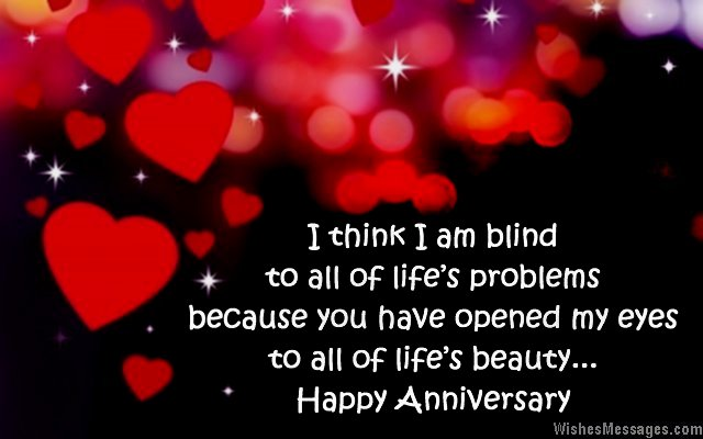 Romantic Quote To Say Happy Aniversary To Wife