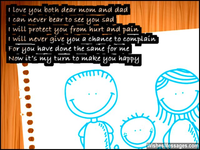 Thank You Poems For Parents Poems To Say Thank You To Mom And Dad