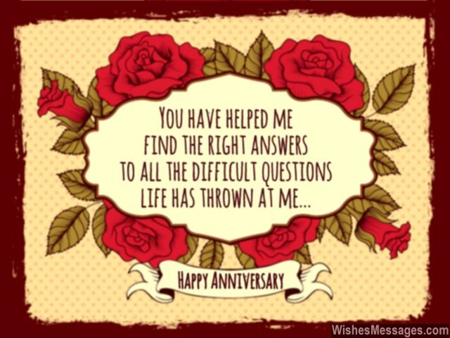 Wedding anniversary wishes for wife greeting card flowers roses
