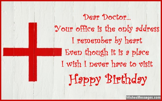 Birthday wishes for doctors WishesMessages – Cute Birthday Card Quotes