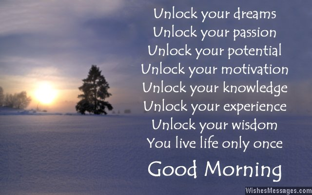 Inspirational good morning poems motivational wishes inspirational good morning poem m4hsunfo