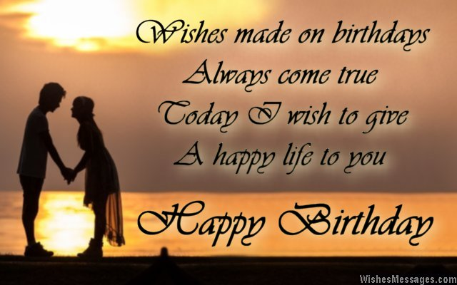 Happy Birthday Wishes For Fiance Female In Fiancee Wishesmessages