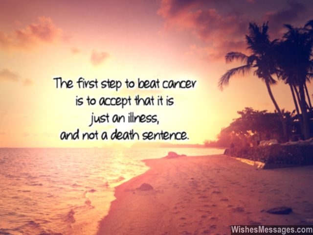 How to beat cancer not a death sentence note for patients