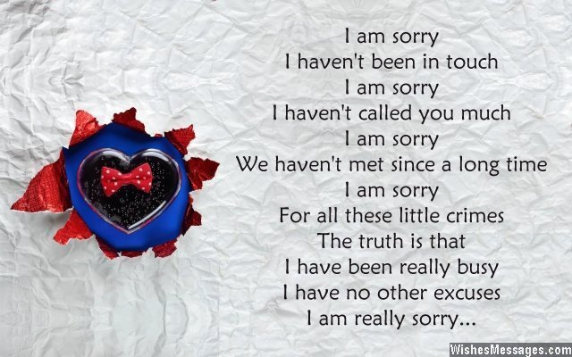 I am sorry card message for a friend