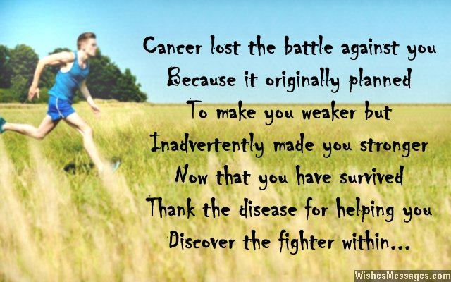 Beat Cancer Quotes Magnificent Inspirational Messages For Cancer Survivors  Wishesmessages