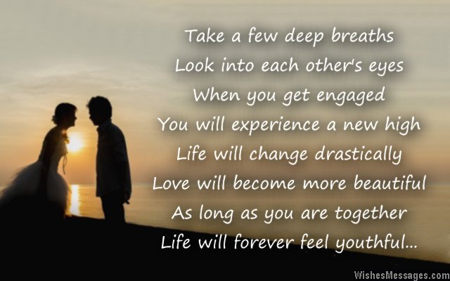 pics photos congratulations for engagement poems for