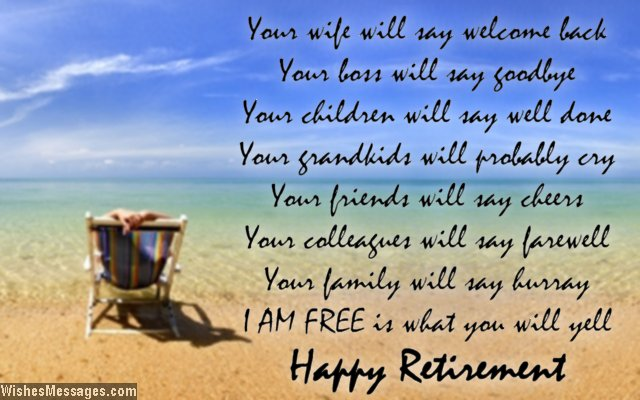Retirement poems for dad: Happy retirement poems for ...
