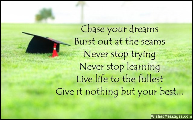 Graduation quotes and messages congratulations for graduating inspirational message for graduates m4hsunfo Images