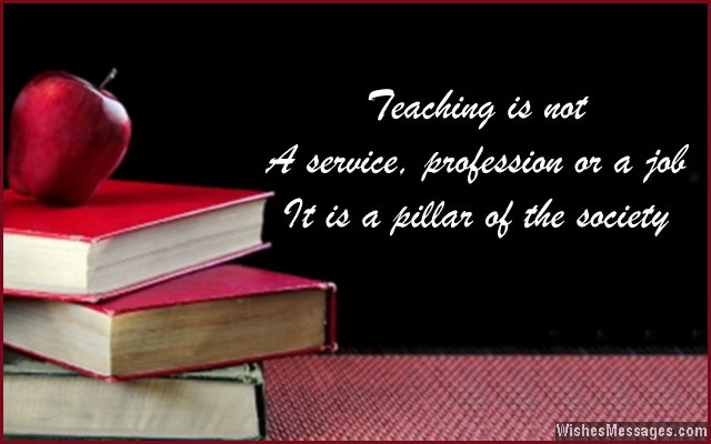 Inspirational messages for teachers quotes for teachers quote about teaching m4hsunfo