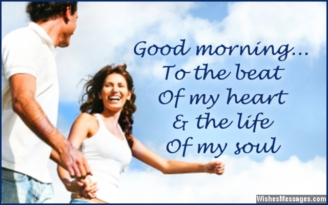 Good Morning My Love Wife Images : Good morning messages for wife quotes and wishes
