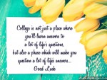 Leaving for College Quotes: Good Luck Messages and Notes