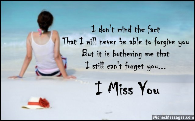 I Miss You Messages For Ex-wife