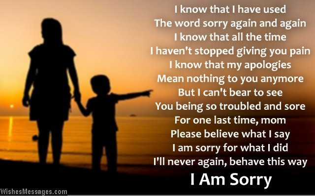 saying sorry for being rude Saying sorry successfully:  saying sorry successfully: learn how to apologise  sincere and potentially effective apology - with an example apology letter.