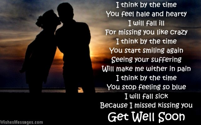 get well soon messages for girlfriend wishesmessages com