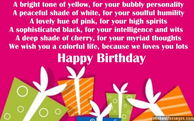 Birthday poems for niece wishesmessages cute greeting poem for a nieces birthday card bookmarktalkfo