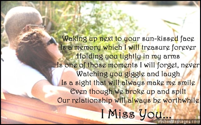 I Miss You Poems for Ex-Girlfriend: Missing You Poems for Her