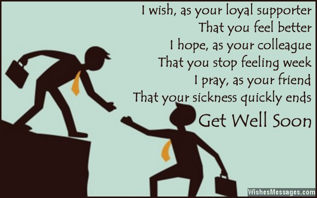 Get Well Soon Messages For Boss – Wishesmessages.Com