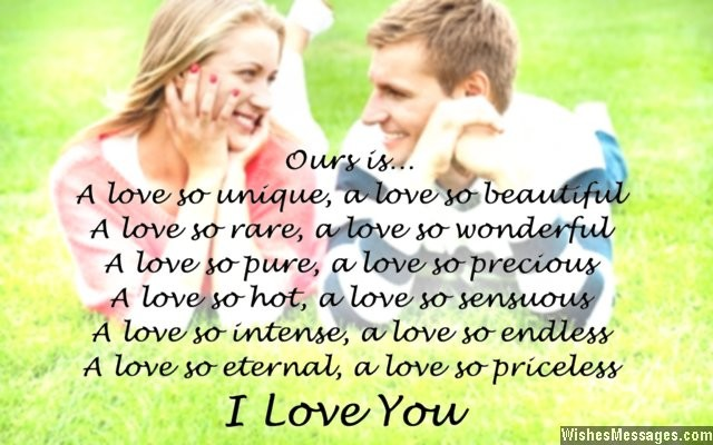 Romantic i love you message for fiancee