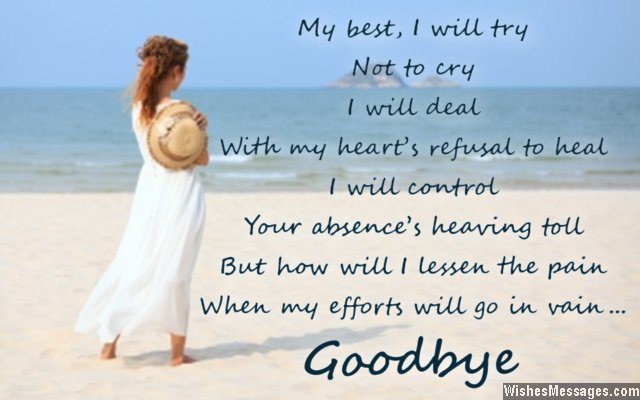 Goodbye Messages for Husband: Quotes for Him ...