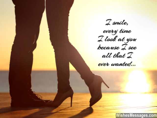 You are all that I ever wanted quote for her