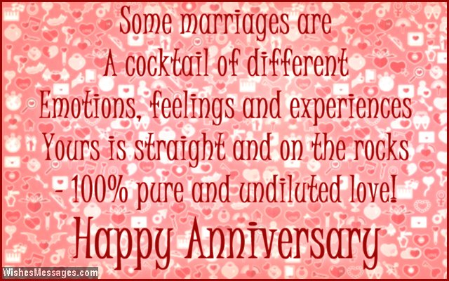Cute anniversary card quote for couples