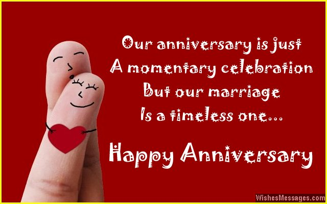 Happy anniversary greeting card message for husband