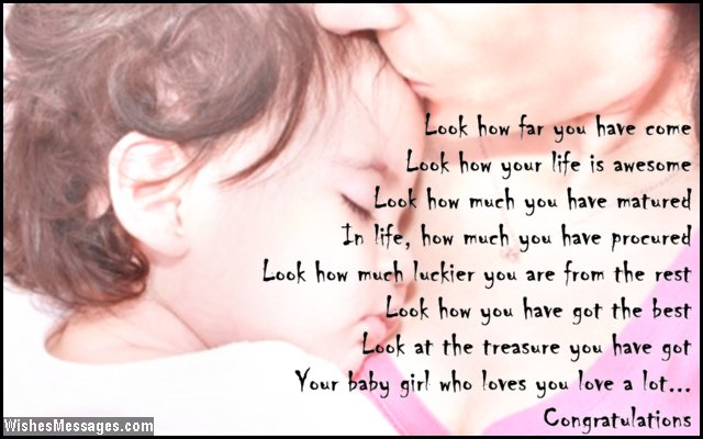 Sweet poem for baby girl
