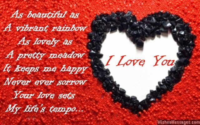 Cute I love you message for guys and girls