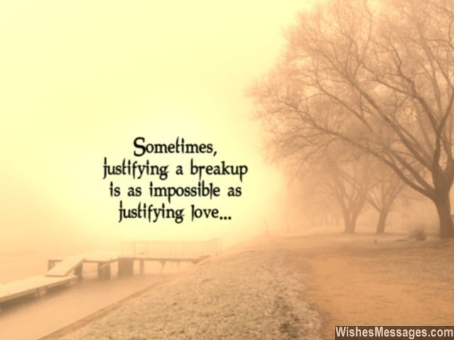 Break Up Love Quotes Impressive Breakup Messages For Girlfriend Quotes For Her  Wishesmessages